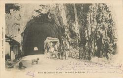 Route de Chambéry à Lyon ; Le Tunnel des Echelles.