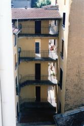 Immeuble 4, quai Arloing : façade sur cour