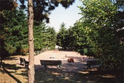 Jardin public du quai de la gare d'eau