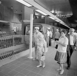 [Journées portes ouvertes à la station de métro Gorge-de-Loup (ligne D)]