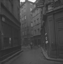Quartier de Lyon en restauration
