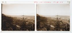 Le Lac Léman, en descendant de la Faucille