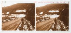 Route de Nantua en haut du Cerdon