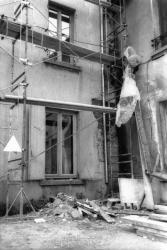 [O.P.A.H. Caluire - Val-de-Saône : rénovation d'un immeuble, rue Louis-Dufour]