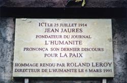 51, rue de Bourgogne : plaque commémorative