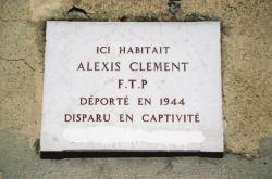 8, rue Antonin-Laborde : plaque commémorative