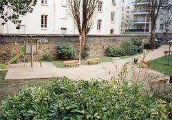 6, rue Cottin : jardin public