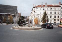 Rond-point de la place de Valmy