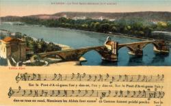 Avignon - Le Pont Saint-Bénézet (XIIe siècle)
