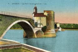 Avignon - Le Pont Saint-Bénézet.