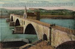 Avignon - Le Pont Saint-Bénézet
