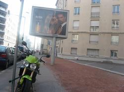 """""""Moto et panneaux"""""""