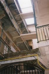 49, rue Marietton : cour intérieure