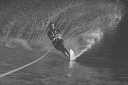[Jean-Marie Müller et Marie-Dominique Anro, ski nautique]