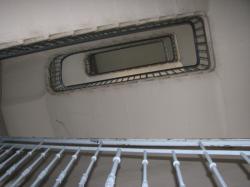 """""""Cage d'escalier vu du bas"""""""