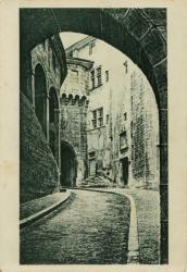 Chambéry : Entrée du Château (d'après un dessin de J.-P. Dehu).