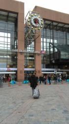 L'horloge de la Gare Lyon Part-Dieu