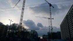 Lyon en phase de construction