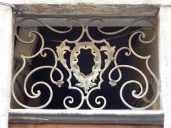 Imposte à arabesques, 4 rue Hippolyte-Flandrin