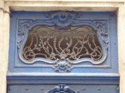 Imposte à arabesques, 5 rue Sainte-Marie-des-Terreaux