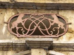 Imposte à monogramme, 3 rue Saint-Georges