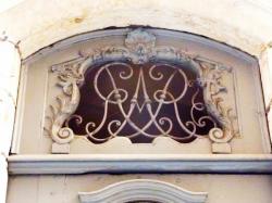 Imposte à monogramme, 4 rue Désirée