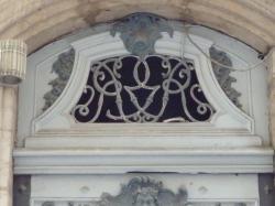Imposte à monogramme, 6 rue Sainte-Marie-des-Terreaux