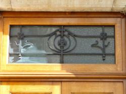 Imposte art nouveau, 27 boulevard des Brotteaux