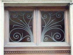 Imposte art nouveau, 42 boulevard de la Croix-Rousse