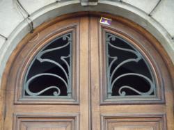 Imposte art nouveau, 46 avenue de Saxe