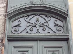 Imposte art nouveau, 53 quai Saint-Vincent