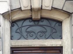 Imposte art nouveau, 175 cours Lafayette