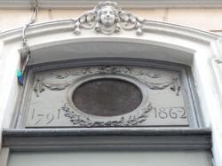 Imposte atypique, 4 Grande rue des Feuillants