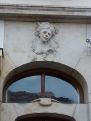 Imposte atypique, 43 rue Juliette-Récamier