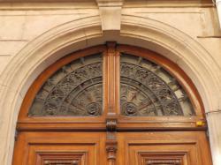 Imposte rayonnante, 4 rue Monseigneur Lavarenne