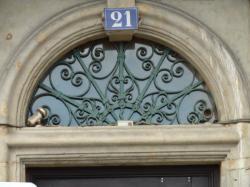 Imposte rayonnante, 21 quai Romain-Rolland