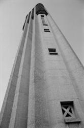 [Beffroi du carillon du Mas-Rillier à Miribel (Ain)]