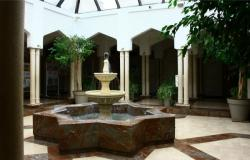 Grande mosquée de Lyon Badr Eddine, bassin des ablutions
