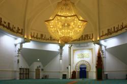 Grande mosquée de Lyon Badr Eddine, salle de prière