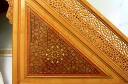 Grande mosquée de Lyon Badr Eddine, détail architectural