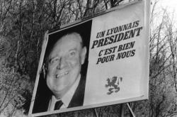 [Elections présidentielles (1988) : campagne d'affichage lyonnaise de Raymond Barre]