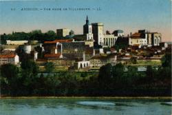 Avignon - Vue prise de Villeneuve