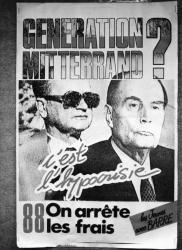 """[""""Génération Mitterrand ? C'est l'hypocrisie""""]"""