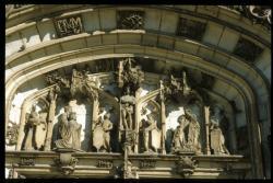 [Portail et tympan, église de Brou Bourg-en-Bresse]