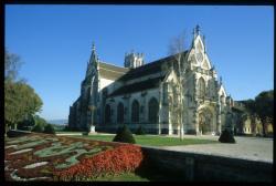 [L' église du monastère royal de Brou, Bourg-en-Bresse ]