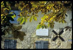 [Un détail de la maison de Claude Bernard, Saint-Julien-en-Beaujolais]