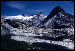 [Glacier depuis le refuge des Evettes]