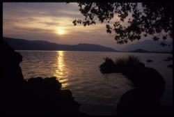 [Le lac du Bourget]