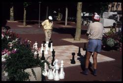 [Jeu d'échecs géants, Aix-les-Bains]
