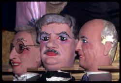 [Marionnettes : Ernest Neichthauser, Edouard Herriot et Louis Pradel]